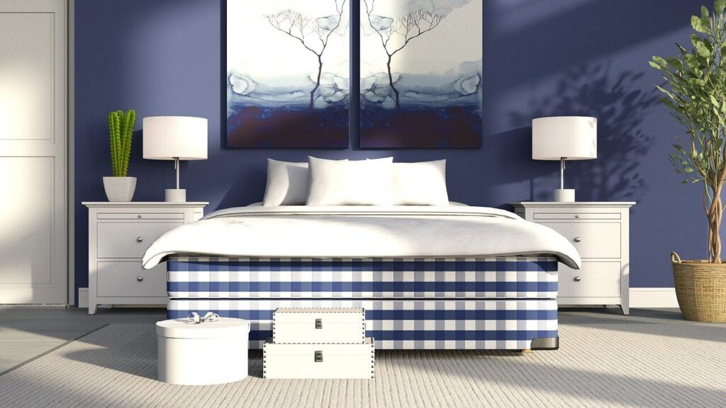 Paint Your Bedroom Walls to Sleep Tight